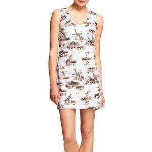 Banana Republic Safari Print Dress